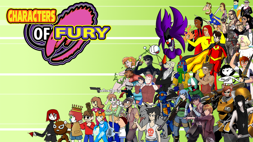 Characters of Fury